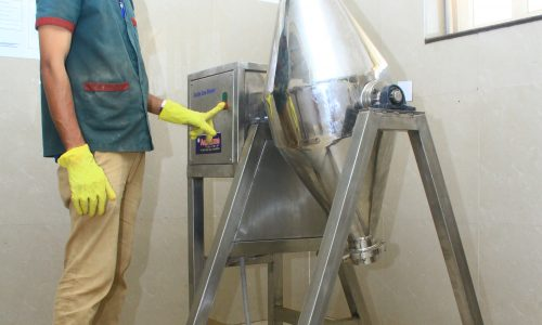 DOUBLE CONE BLENDER(TABLET PUNCHING MACHINE)