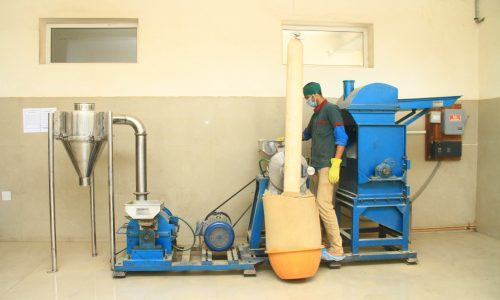 PULVERIZATION SECTION